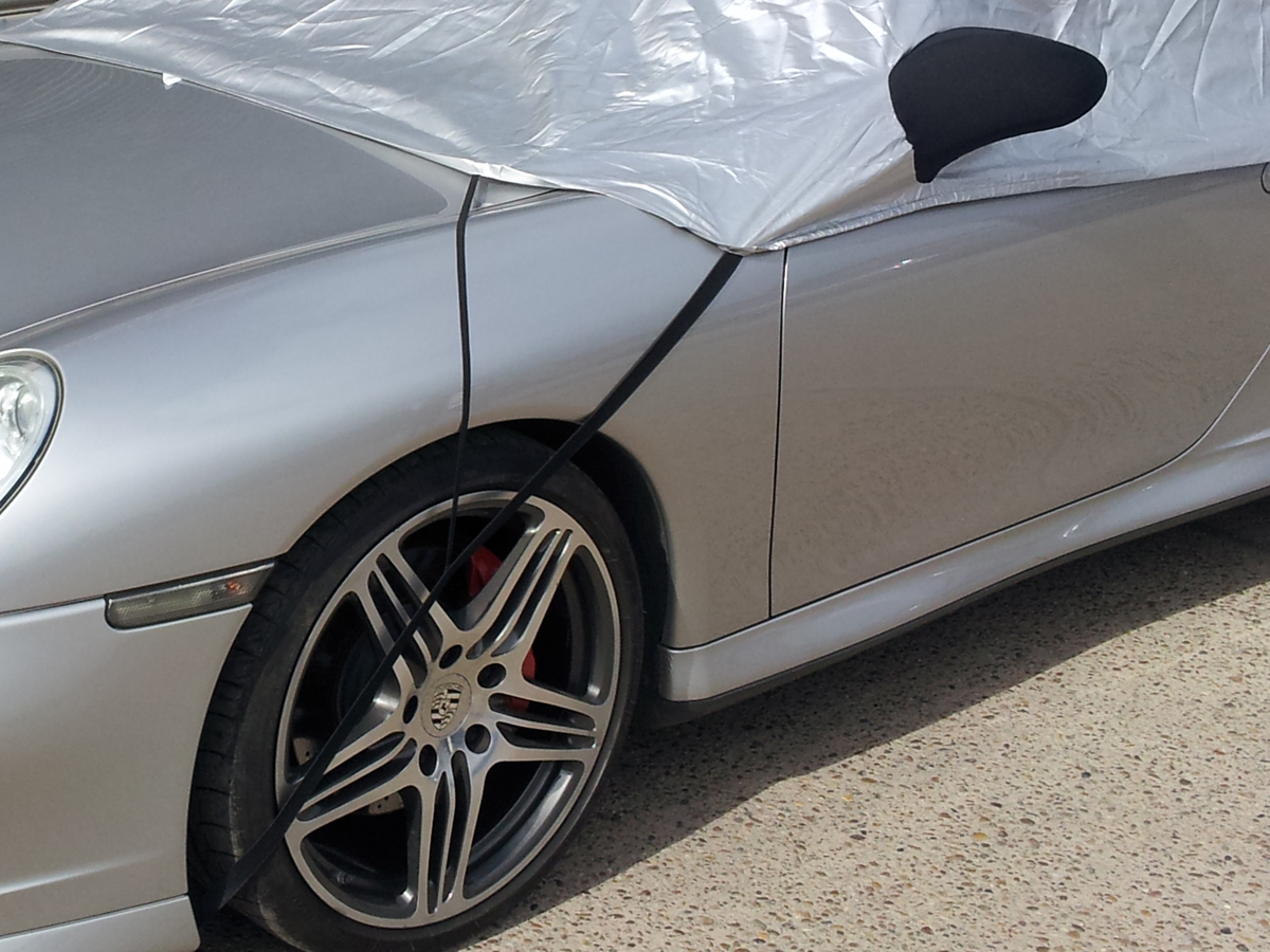 BMW 6 Series E63 E64 /& M6 Coupe//Convertible 2004-2010 Coupe Half Size Car Cover